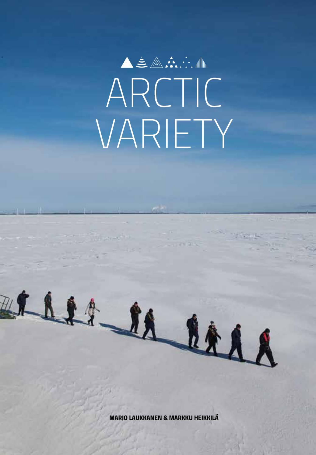 "Book Cover of ""Arctic Variety"""