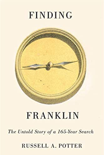 "Book cover of ""Finding Franklin""."