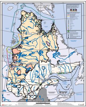 Maps Atlases And Geospatial Data Institut Nordique Du Quebec