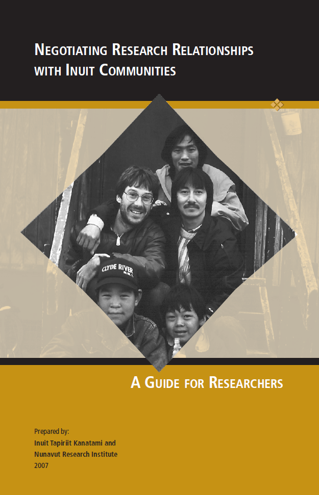 Negociating Research Relationships with Inuit Communities: A Guide for Researchers