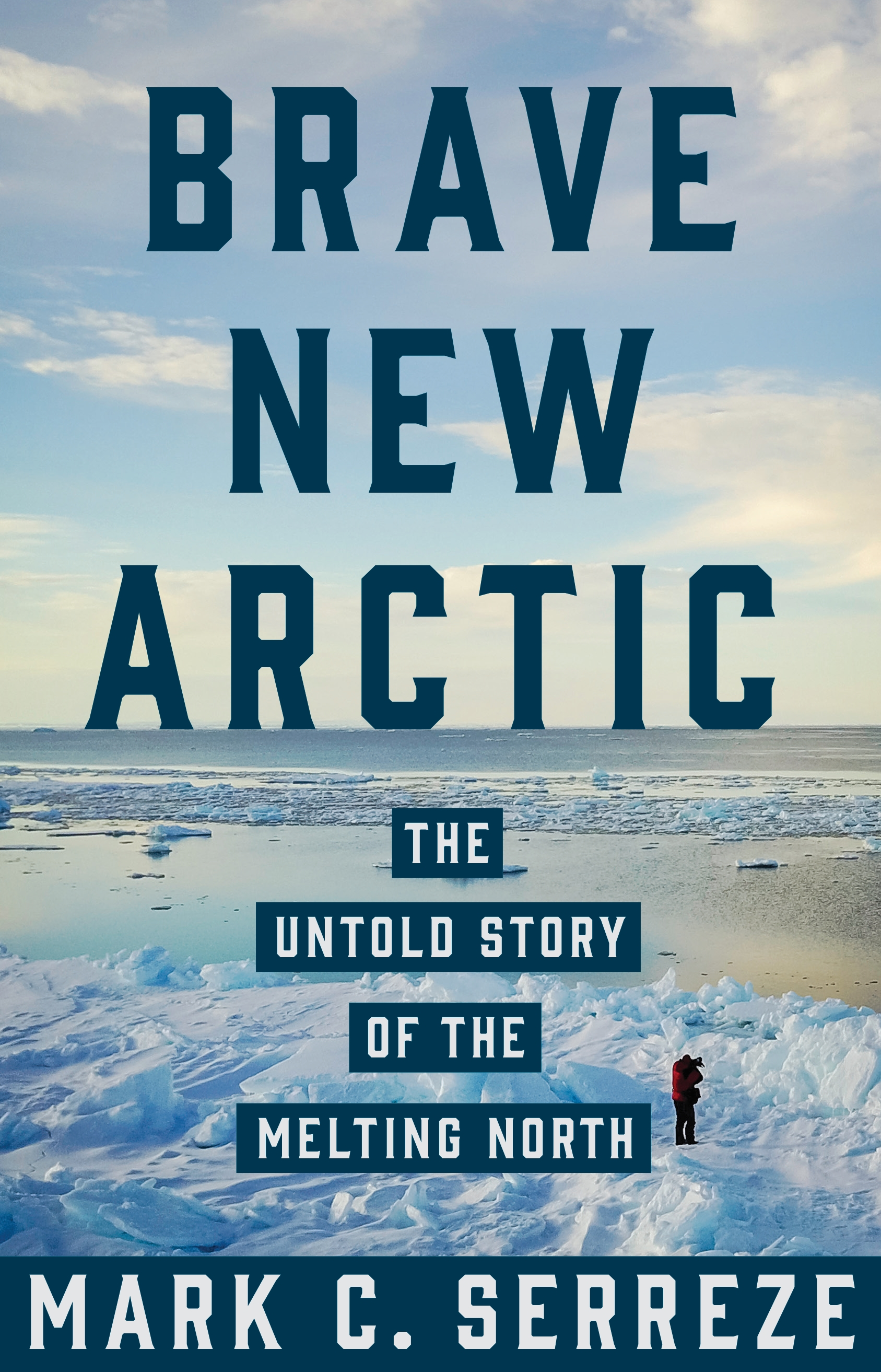 "Book cover ""Brave New Arctic""."