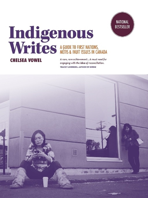 "Book cover of ""Indigenous Write""."